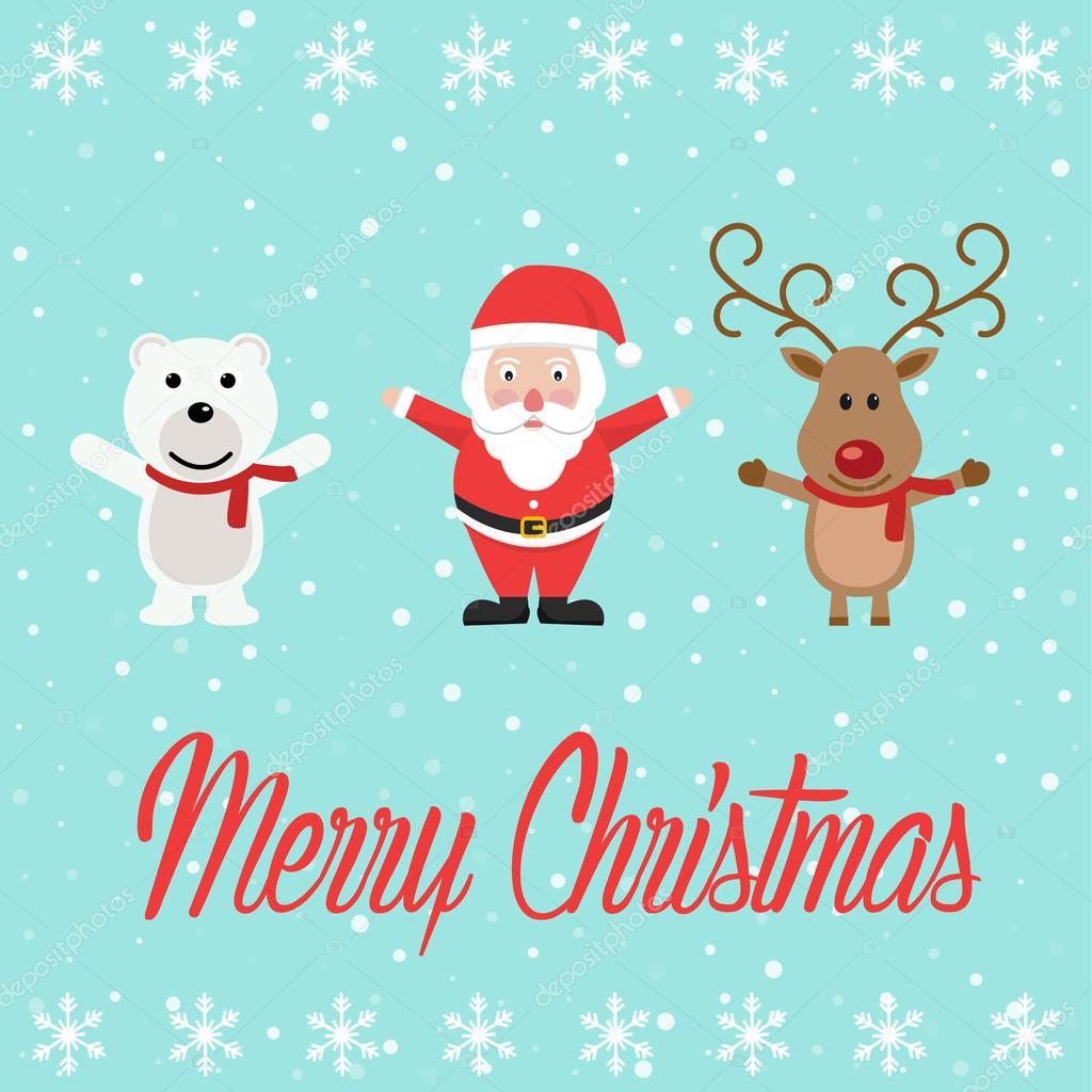 Süße Weihnachten Zeichen — Stockvektor © royalty #127666376