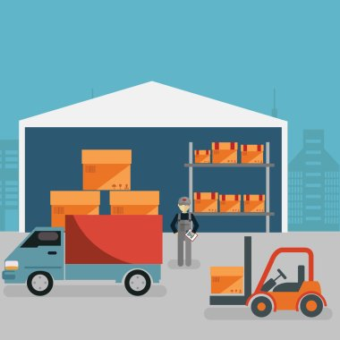 Loading and unloading from warehouse