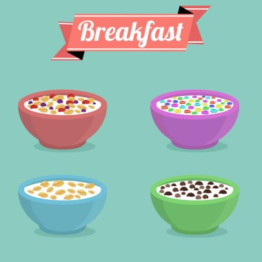 Healthy breakfast concept