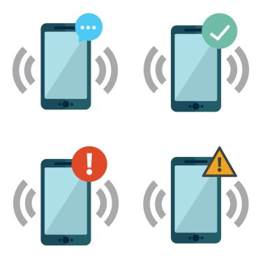 Smart phones with push notifications