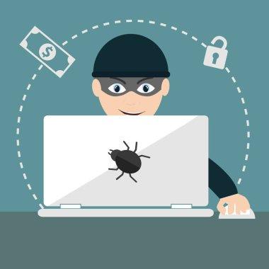 Computer hacker spread net