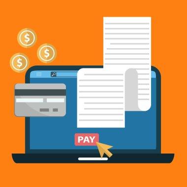 Online digital invoice