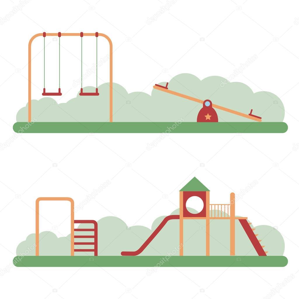 Playground infographic elements