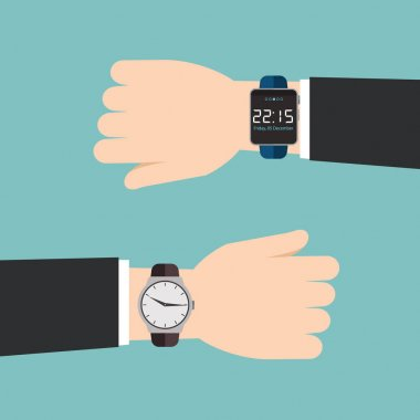 Analog watches and smart watches