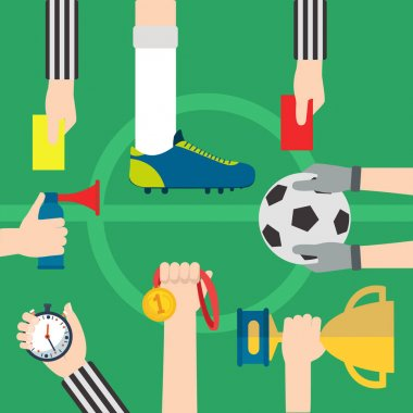 Football, soccer items