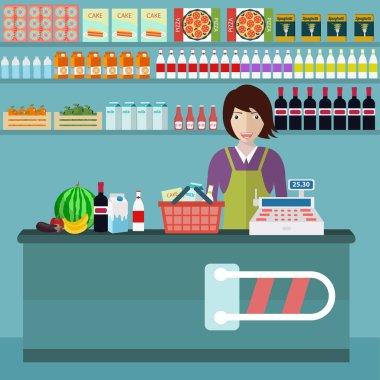 store counter desk