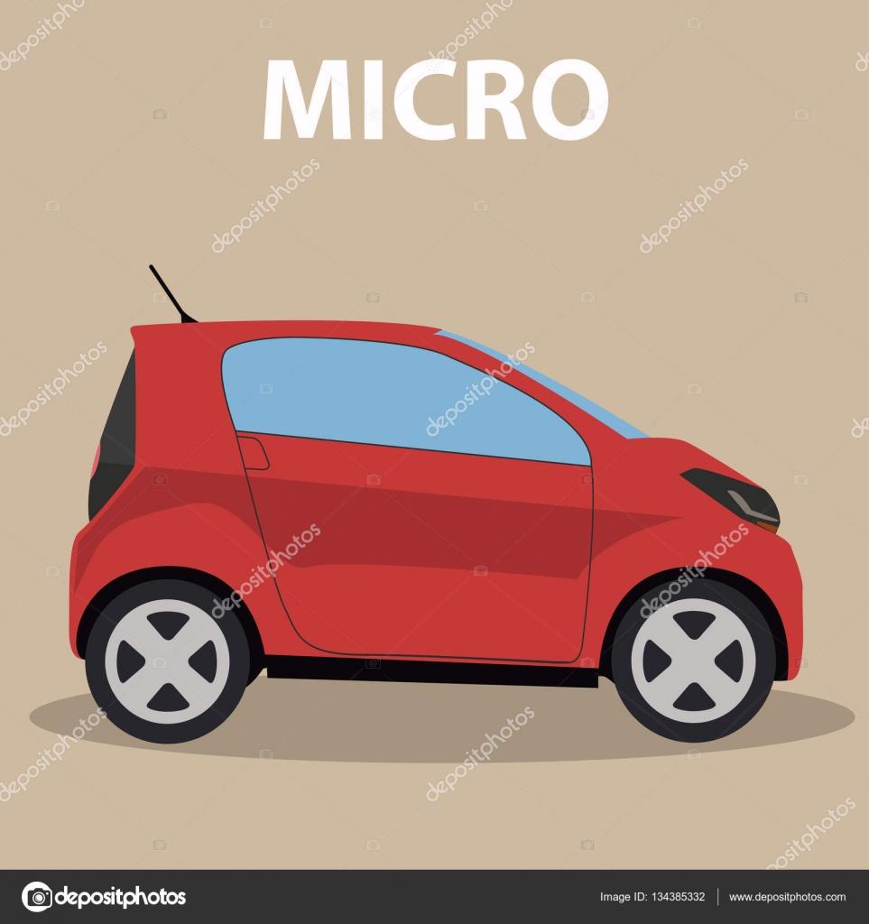 mikro auto fahrzeug stockvektor royalty 134385332. Black Bedroom Furniture Sets. Home Design Ideas