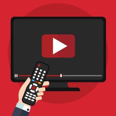 Video tutorials concept