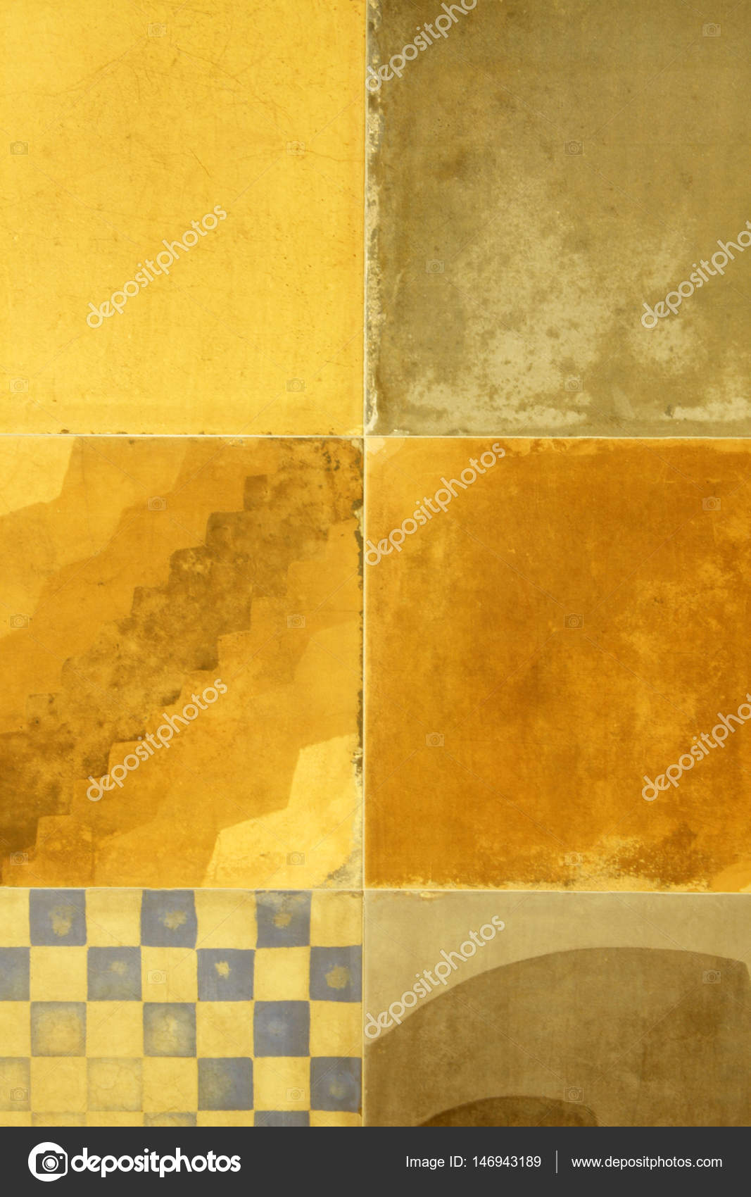 Modern decorative wall tiles — Stock Photo © reflex_safak #146943189