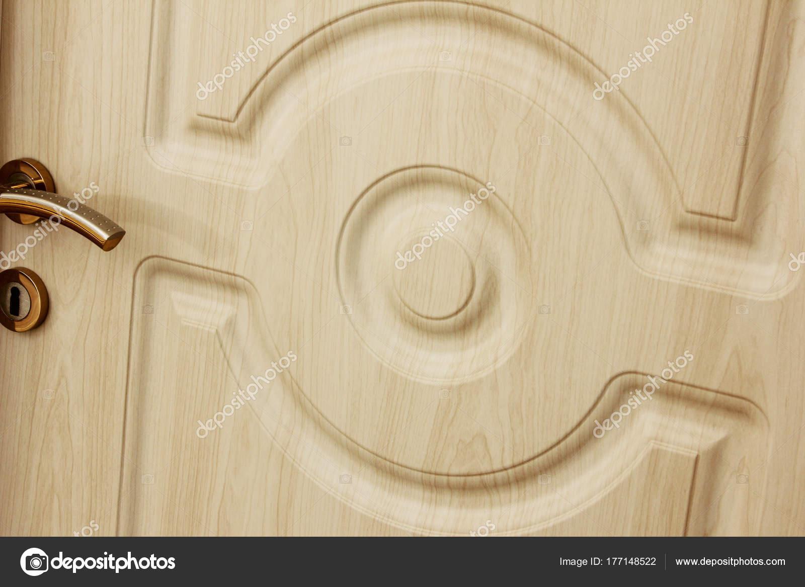 Porte Interne Legno Con Maniglia — Foto Stock © reflex_safak #177148522