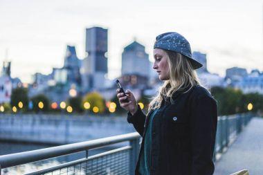 Portrait of young teenage girl