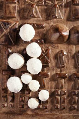 kurt kurut - asian dried yogurt balls