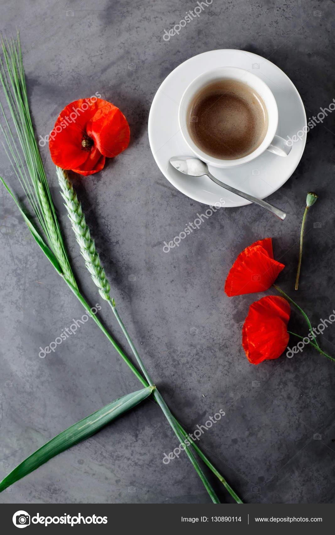 Risultati immagini per caffè e papaveri