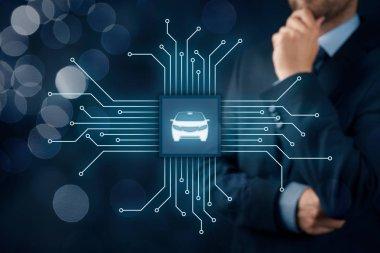 smart cars concept