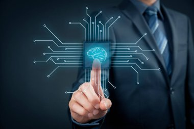 Artificial intelligence technologies concept