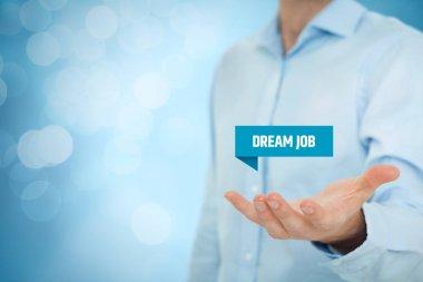 Dream job offer concept.