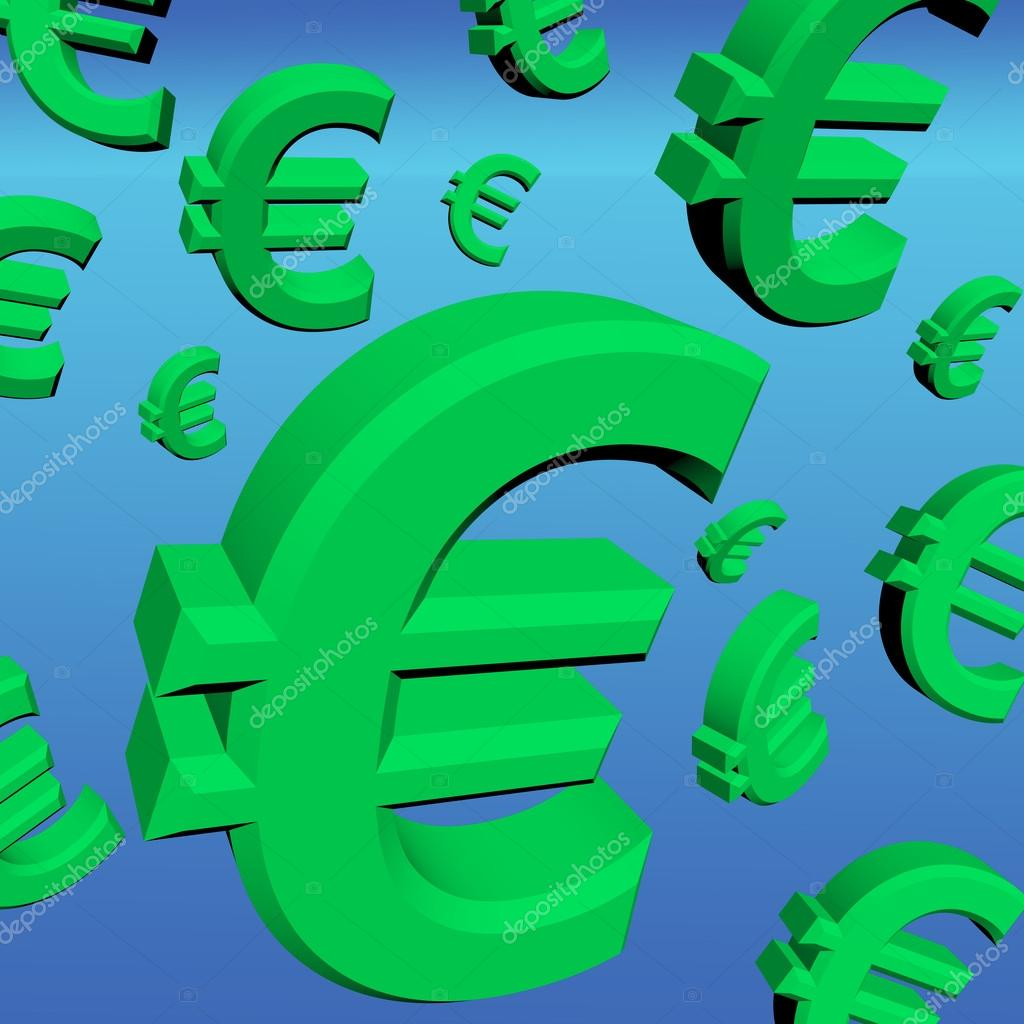 Euro Signs As Symbol For Money Or Wealth Stock Photo Stuartmiles