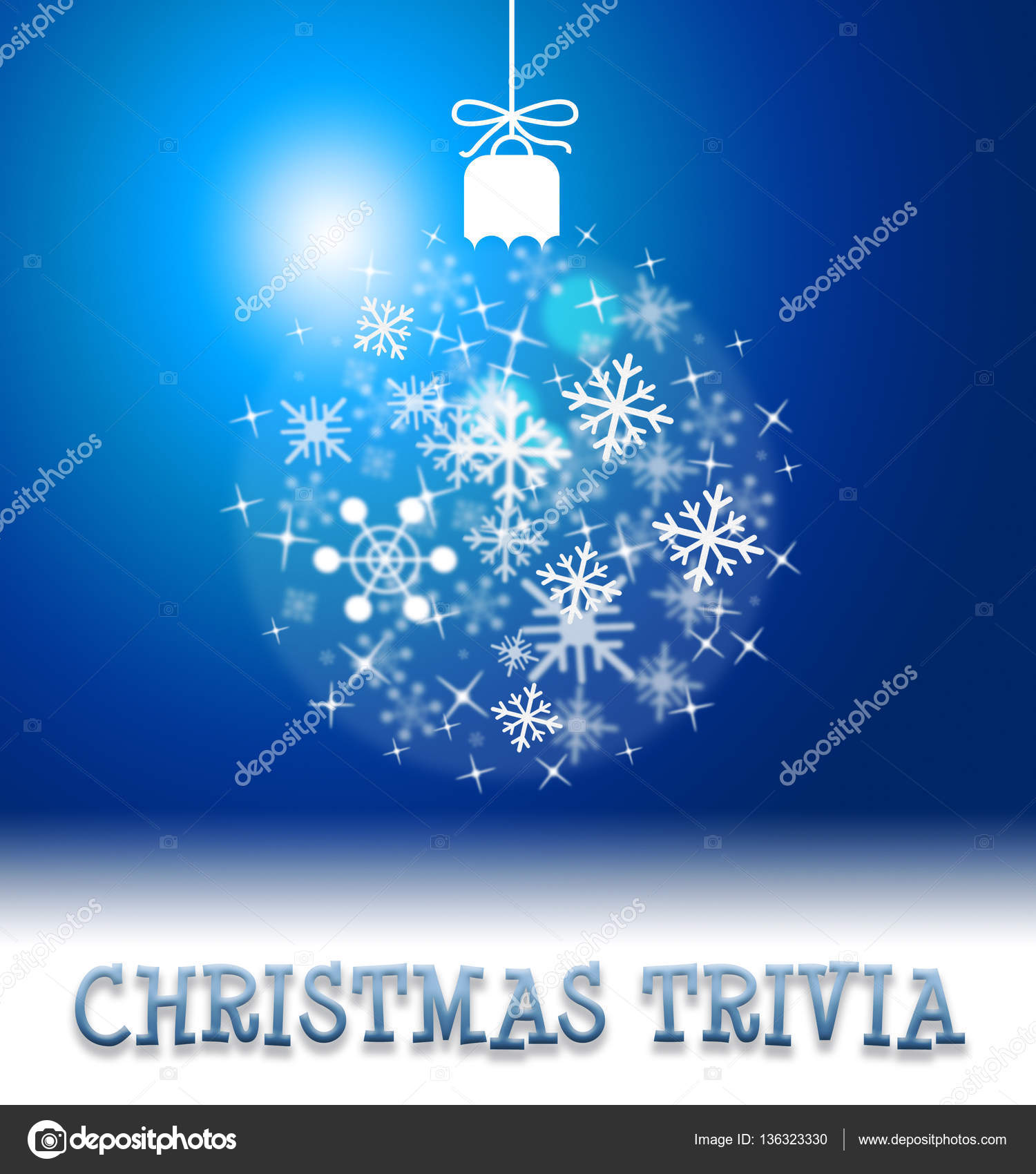 christmas trivia ball decoration showing xmas facts yuletide quiz photo by stuartmiles - Christmas Trivia Facts