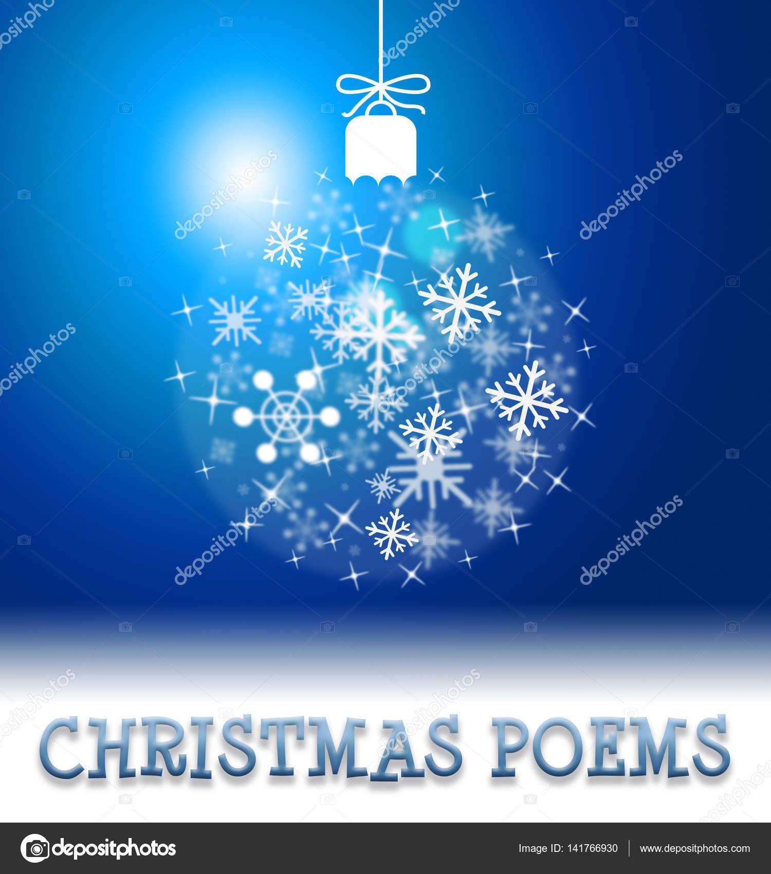 Weihnachten Gedichte Bedeutet Glücklich Festliche Begrüßung