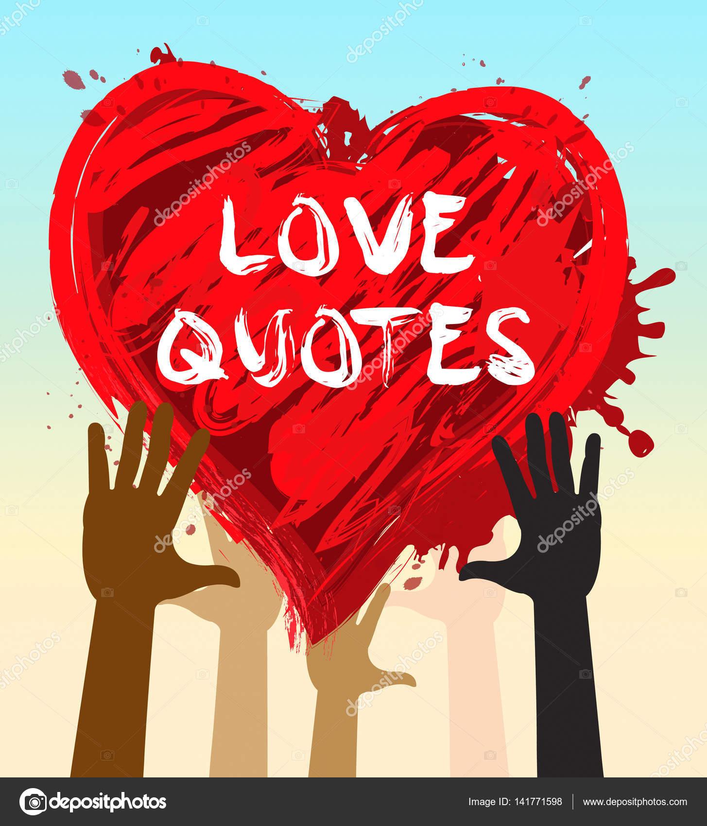 Citaten Over Inspiratie : Liefde citaten shows liefdevolle inspiratie d illustratie