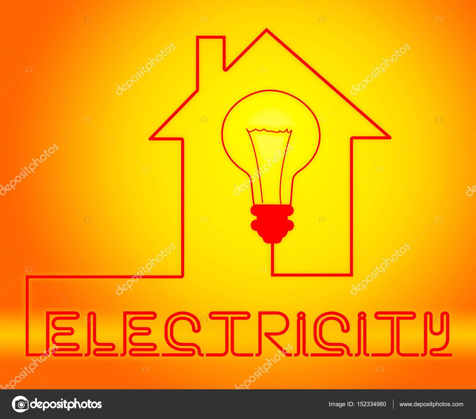 Circuito Significado : Circuito y la fuente de alimentación de electricidad bombilla