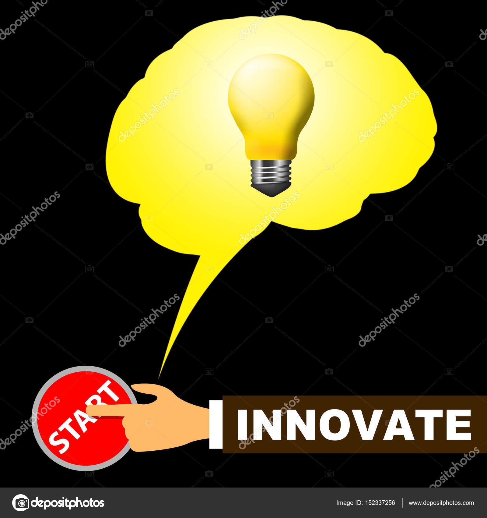 innovating lighting. Innovate Light Meaning Innovating Creative And Ideas \u2014 Stock Photo Lighting