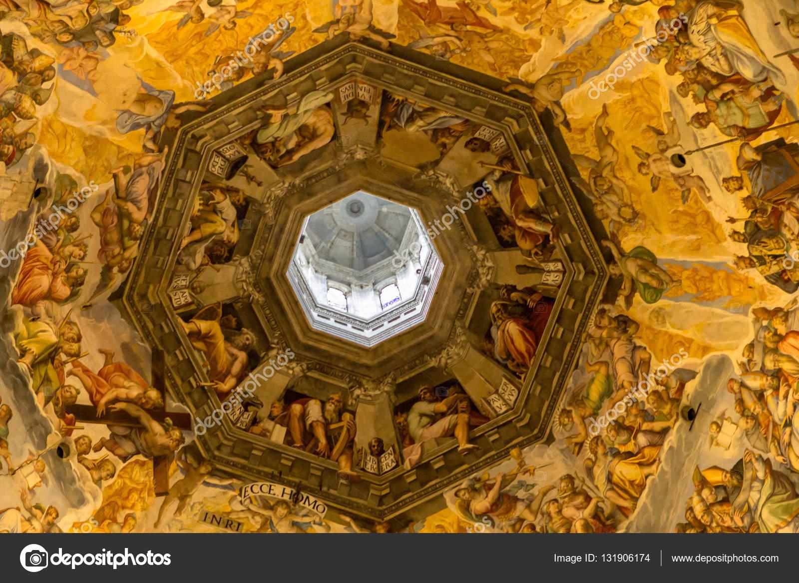 Foto del giorno del giudizio sul soffitto della cupola di for Piani di cupola pdf