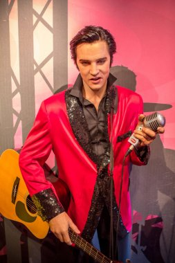 Wax figur of Elvis Presle