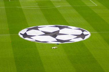 Camp Nou stadium before Champions League