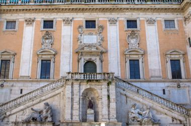 Senatorial palace at the Capitoline hill in Rome