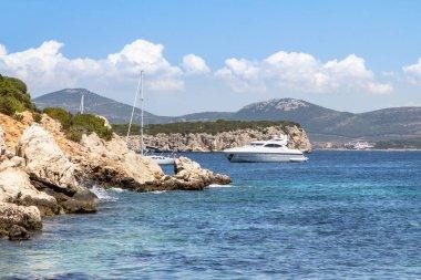 """Картина, постер, плакат, фотообои """"летний пейзаж на острове сардиния, италия """", артикул 158870650"""