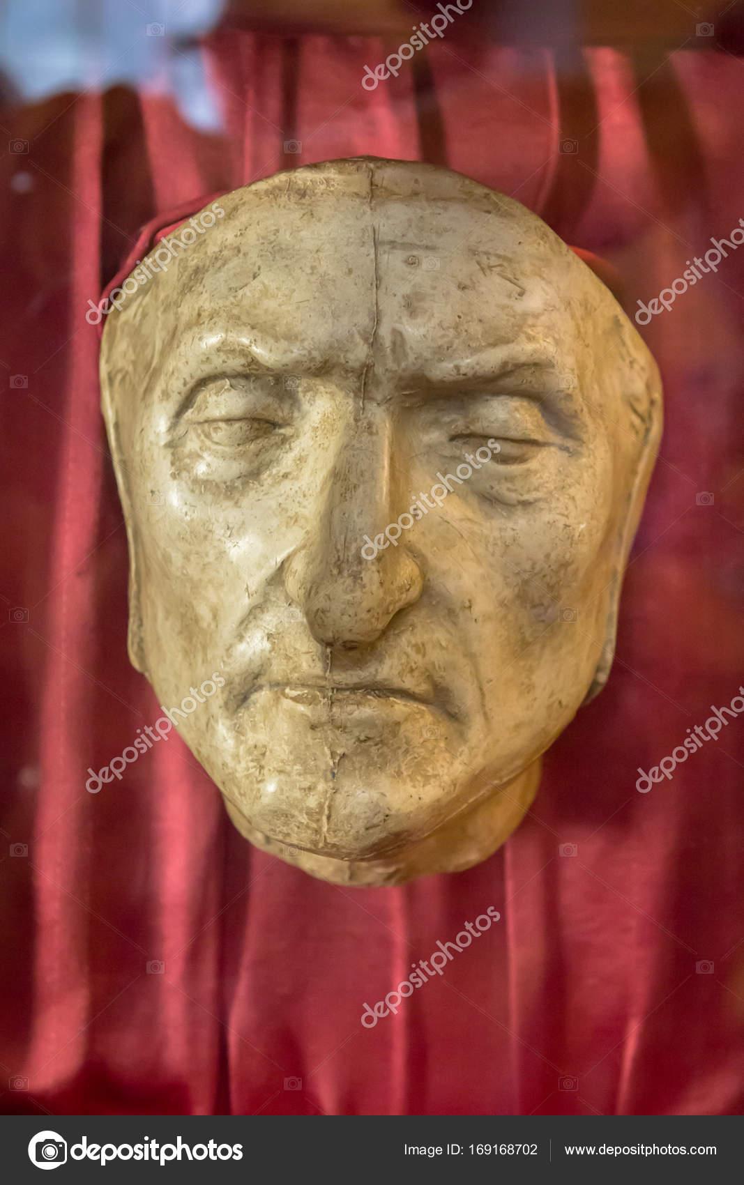 2019 professionnel plutôt sympa original Masque mortuaire de Dante Alighieri à Florence, Italie ...