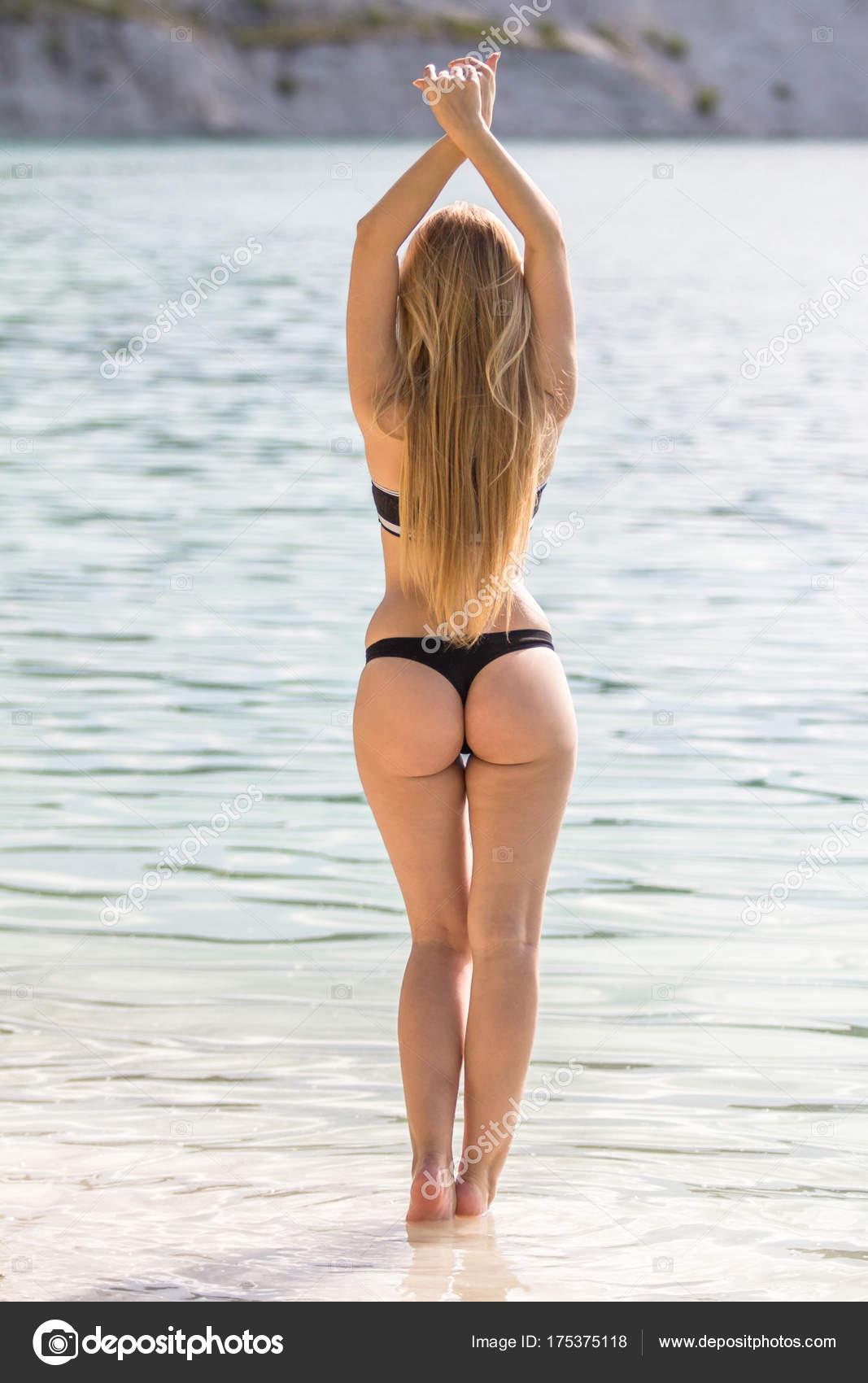 Sexy frau von hinten