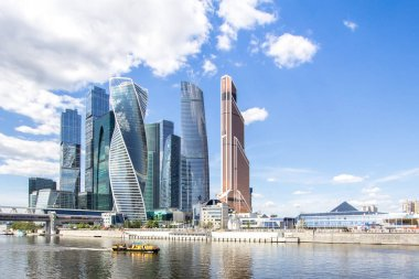 Business Center Moscow-City, Russia