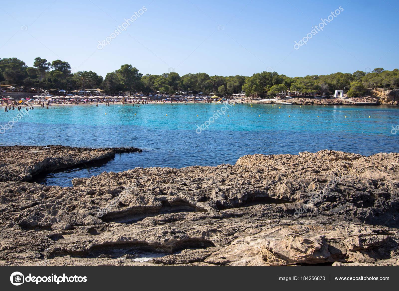 Cala Bassa, Ibiza, Spain — Stock Photo © CAHKT #184256870
