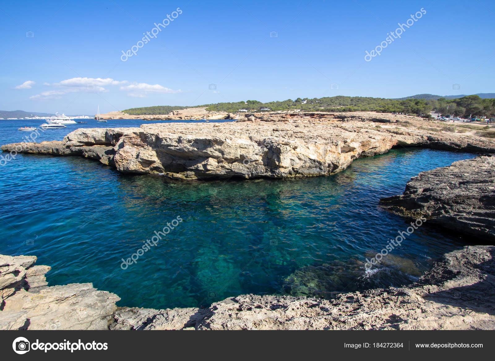 Cala Bassa, Ibiza, Spain — Stock Photo © CAHKT #184272364