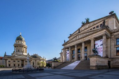 French cathedral and Konzerthaus, Berlin, Germany