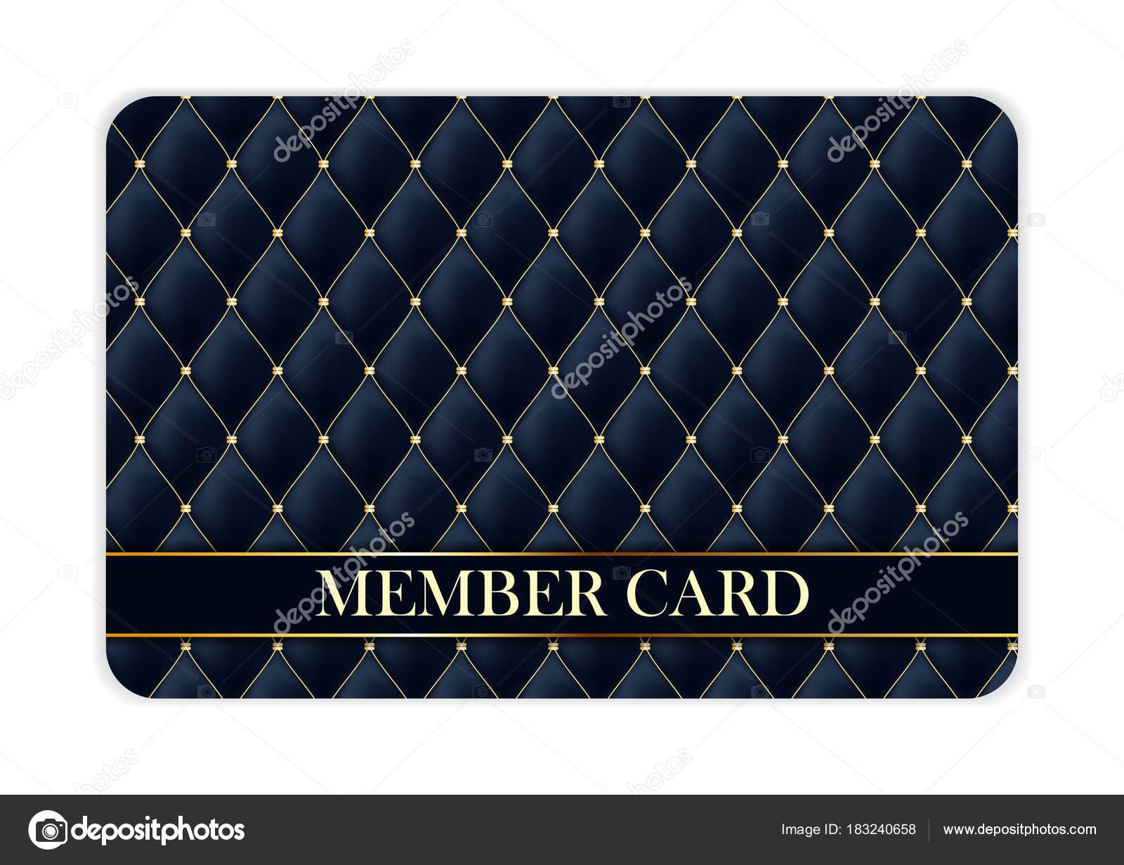 Luxury members gift card template for your business vector luxury members gift card template for your business vector illustration stock vector colourmoves