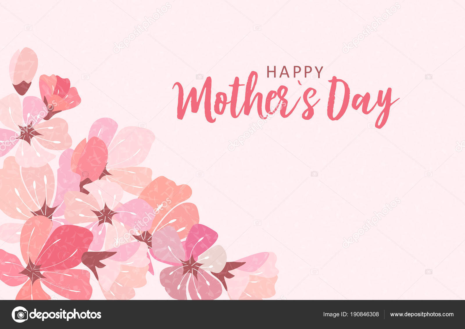 Happy mothers day greeting card with background vector happy mothers day greeting card with background vector illustration stock vector kristyandbryce Image collections