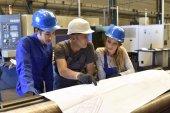 Photo Apprenticeship in metallurgy workshop