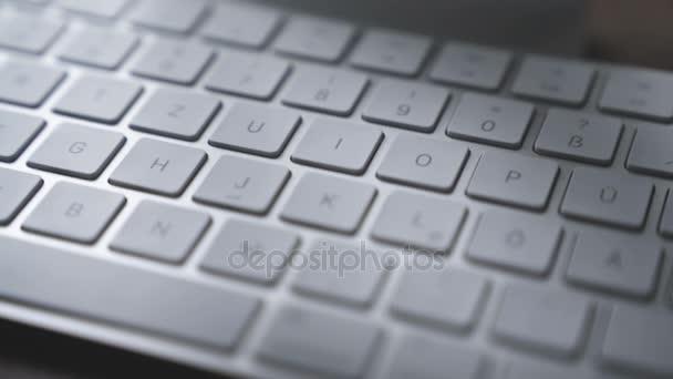 computer keyboard - close-up