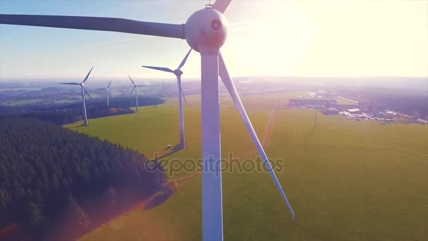 Wind turbines and agricultural fields