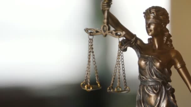 video of Lady Justice Statue