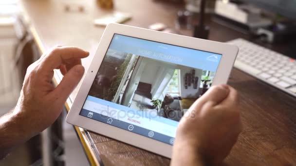 inteligentní domov zařízení - domácí kontrolní