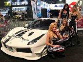 Obchodu s automobily Vegas Sema show 2017