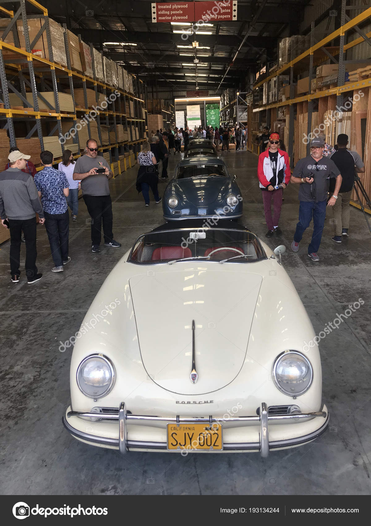 Los Angeles April 2018 Porsche Classic Cars Luftgekuehlt Car Show ...