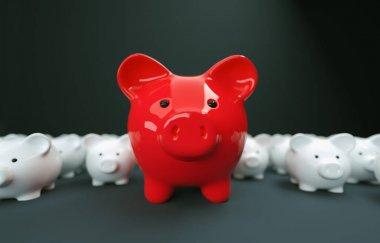 Piggy Bank save money investment