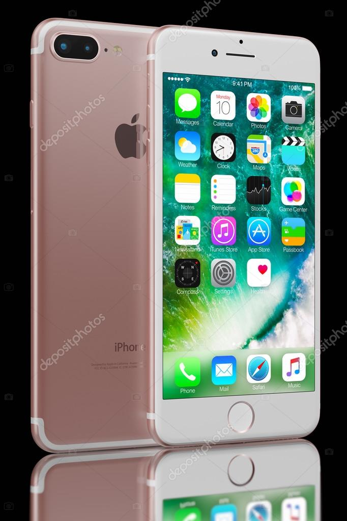 Rose Gold Iphone 7 Plus Photo Editoriale C Manae 125766900