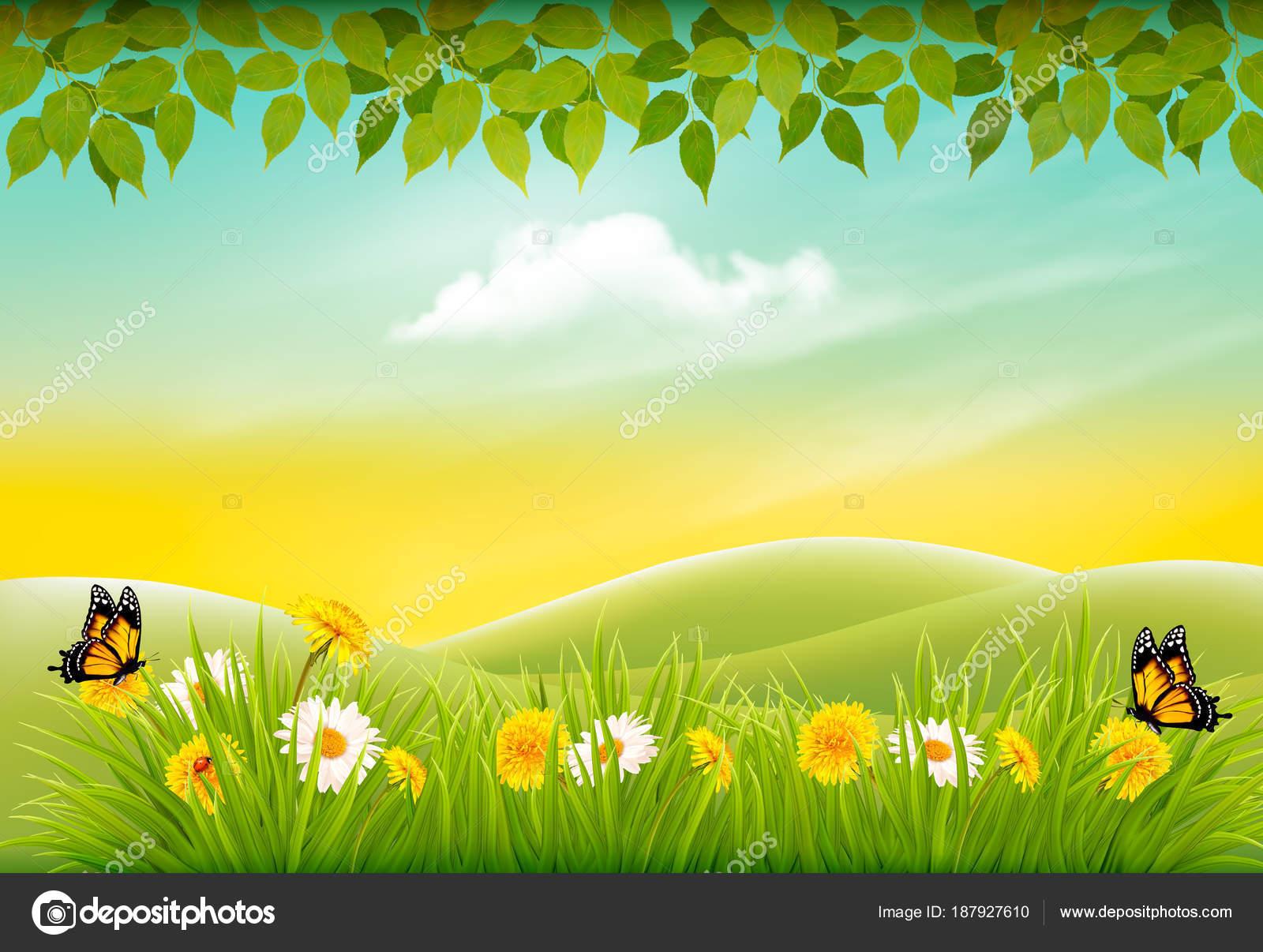 Imagenes De Paisajes De Primavera: Paisajes De Primavera Para Fondo