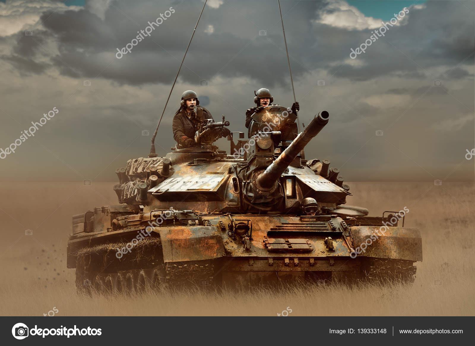 GALATI, ROMANIA - APRIL 22: Romanian tank TR-85M1 in military po